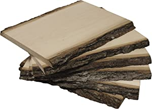 Walnut Hollow Value Pack Medium Basswood Country Plank for Wood Burning, Home Décor and Rustic Weddings, (6 Pack)