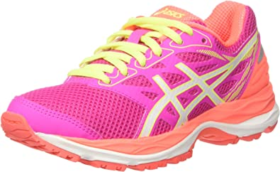 Asics Gel Cumulus 18 GS Zapatillas, Mujer, Rosa, 38: MainApps ...