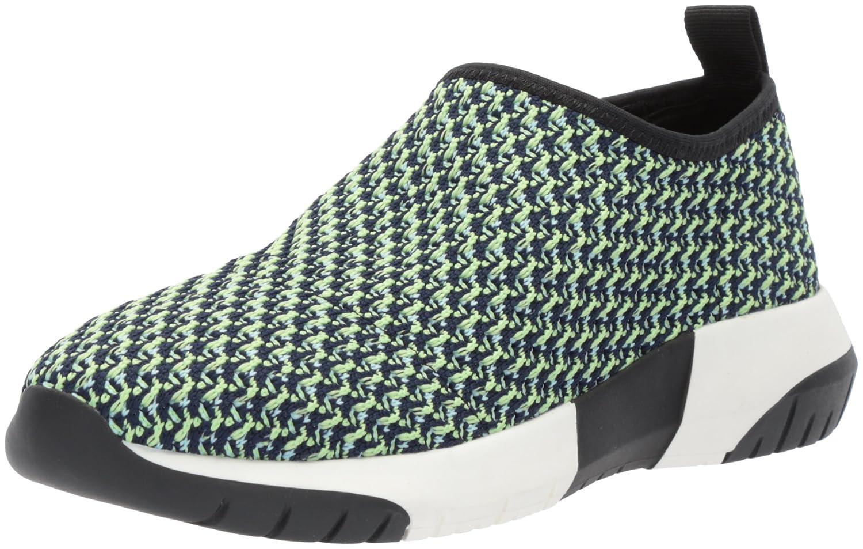 The Fix Women's Laylah Slip-on Jogger Sneaker B0771147LG 9 B(M) US|Green/White Knit Textile