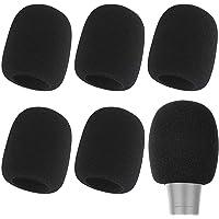 Fundas para micrófono Avidio. 6 pack. Funda de espuma para micrófono. Paquete de 6, gran calidad y densidad de la espuma…
