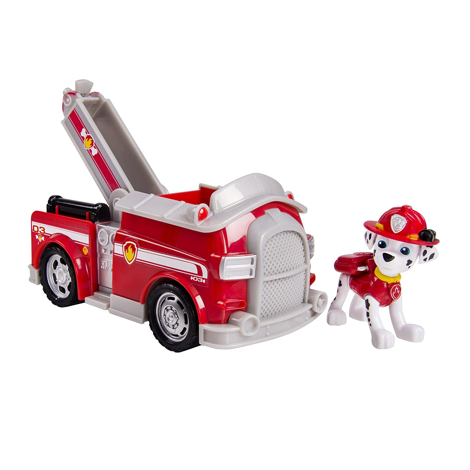 Paw Patrol 20063721 Marshall's Fire Fightin' Truck, Vehicle and Figure