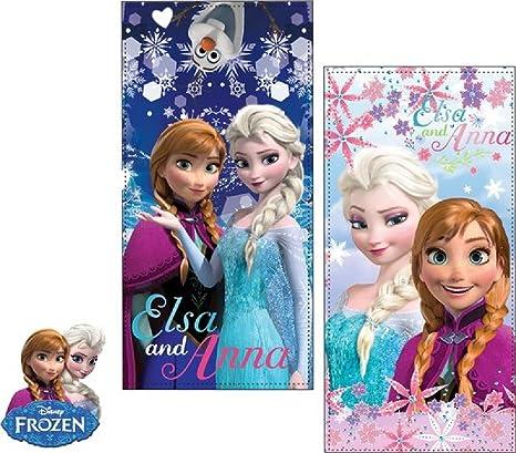Disney Frozen Eiskönigin Strandtuch 70x140cm Baumwolle Handtuch Dusch//Badetuch