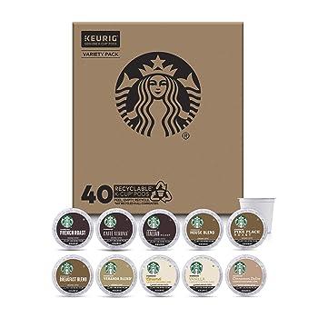 Starbucks Starter Kit 3 Roast Levels K-Cup