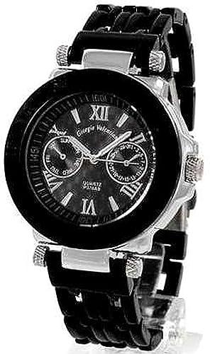 Giorgie Valentian Giorgie Valentian / Trend Online - Reloj unisex, correa de metal: Amazon.es: Relojes