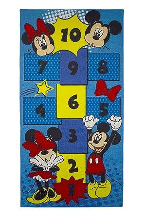 Kinder Teppich Kinderteppich mit Mickey Mouse - Micky Maus ...