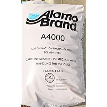Alamo Brand A4000 Cation Water Softening Resin 1 Cf