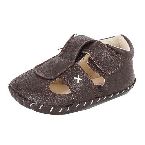 Abdc Kids Infant Brown Baby Boy Shoes Cum Sandals