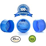 3 and 5 Gallon Water Bargain Premium Water Cooler Jug Non Spill BPA-FREE Bottle caps - Pack of 25