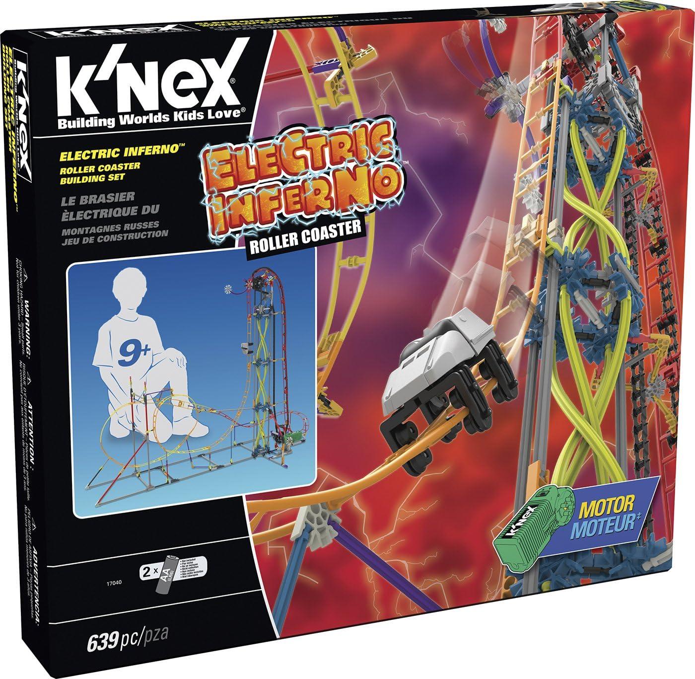 Juego de construcción K'nex Classics Montaña Rusa Electric Inferno por 49,99€