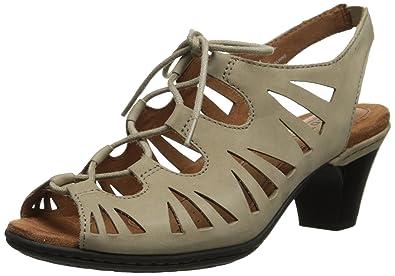 Cobb Hill Womens Sashat Khaki - Heels