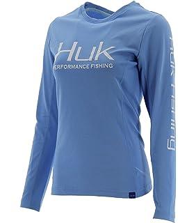 87f09b4e Amazon.com: Huk Women's Icon Hoodie: Sports & Outdoors
