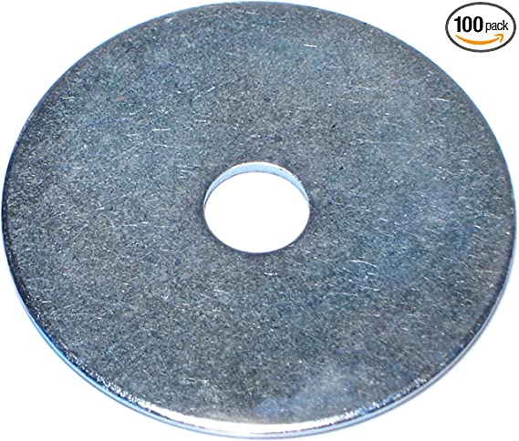 Hard-to-Find Fastener 014973525477 525477 Flat-washers 100 Piece