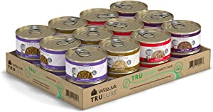 Weruva Truluxe Cat Food, Variety Pack, Truturf, Wet Cat Food, 3Oz Cans (Pack Of 24)