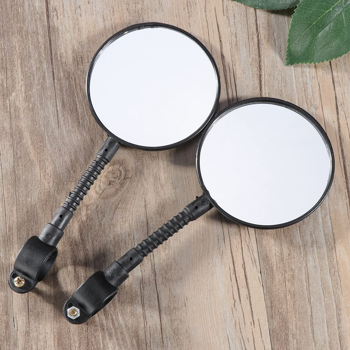 VORCOOL Paire R/étroviseur miroir R/étroviseur Coffre-fort pour guidon de VTT V/élo