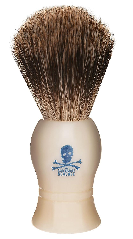 The Bluebeards Revenge Pure Badger Shaving Brush SHBBRBRUSH 5000000082834
