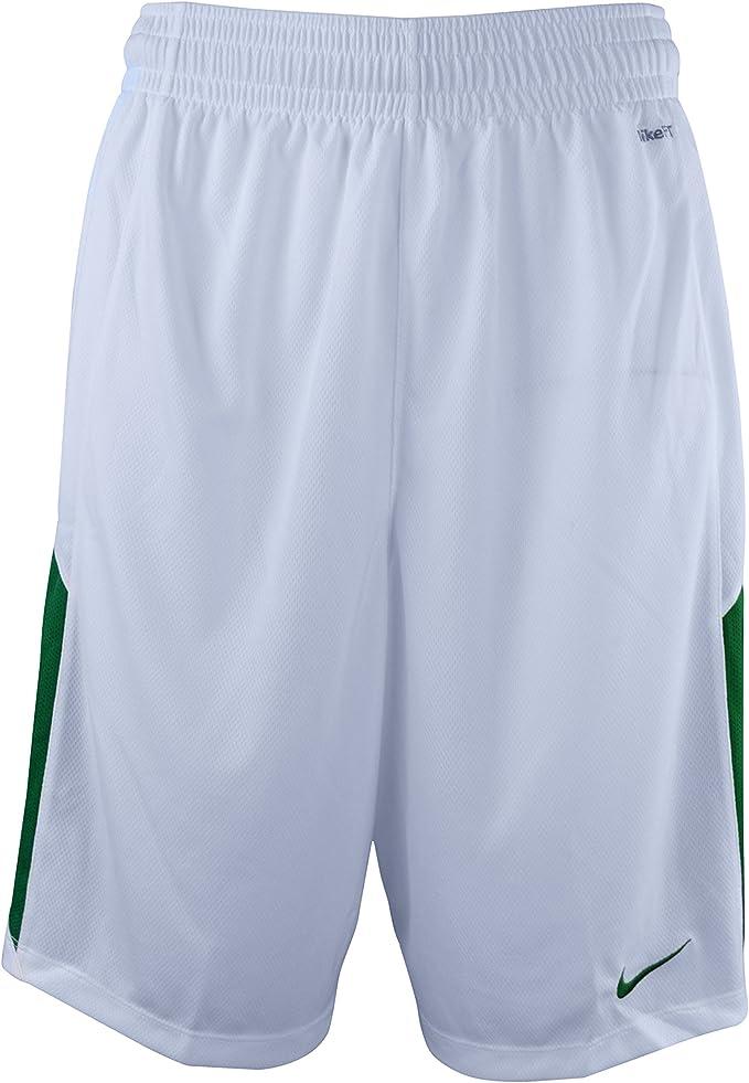 Nike Men's Dri Fit Basketball Shorts 4XL White Green: Amazon