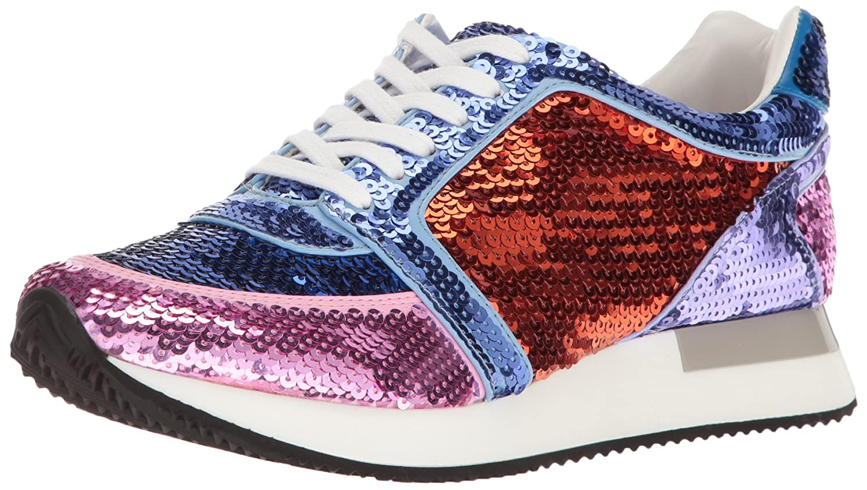 Katy Perry Women's The Lena Sneaker B01MZ24GTG 9.5 B(M) US|Blue Combo