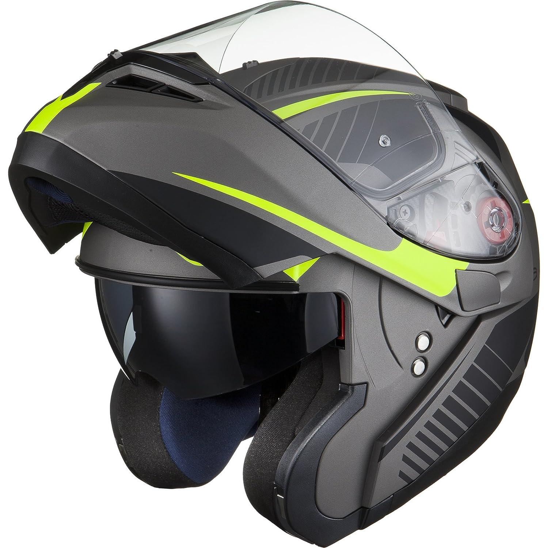 BLACK Optimus SV Tour Motorrad Roller Klapphelm