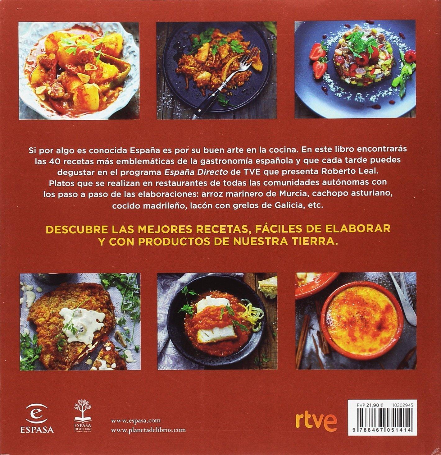 La cocina de nuestra tierra: Las mejores recetas de España Directo Fuera de colección: Amazon.es: RTVE: Libros