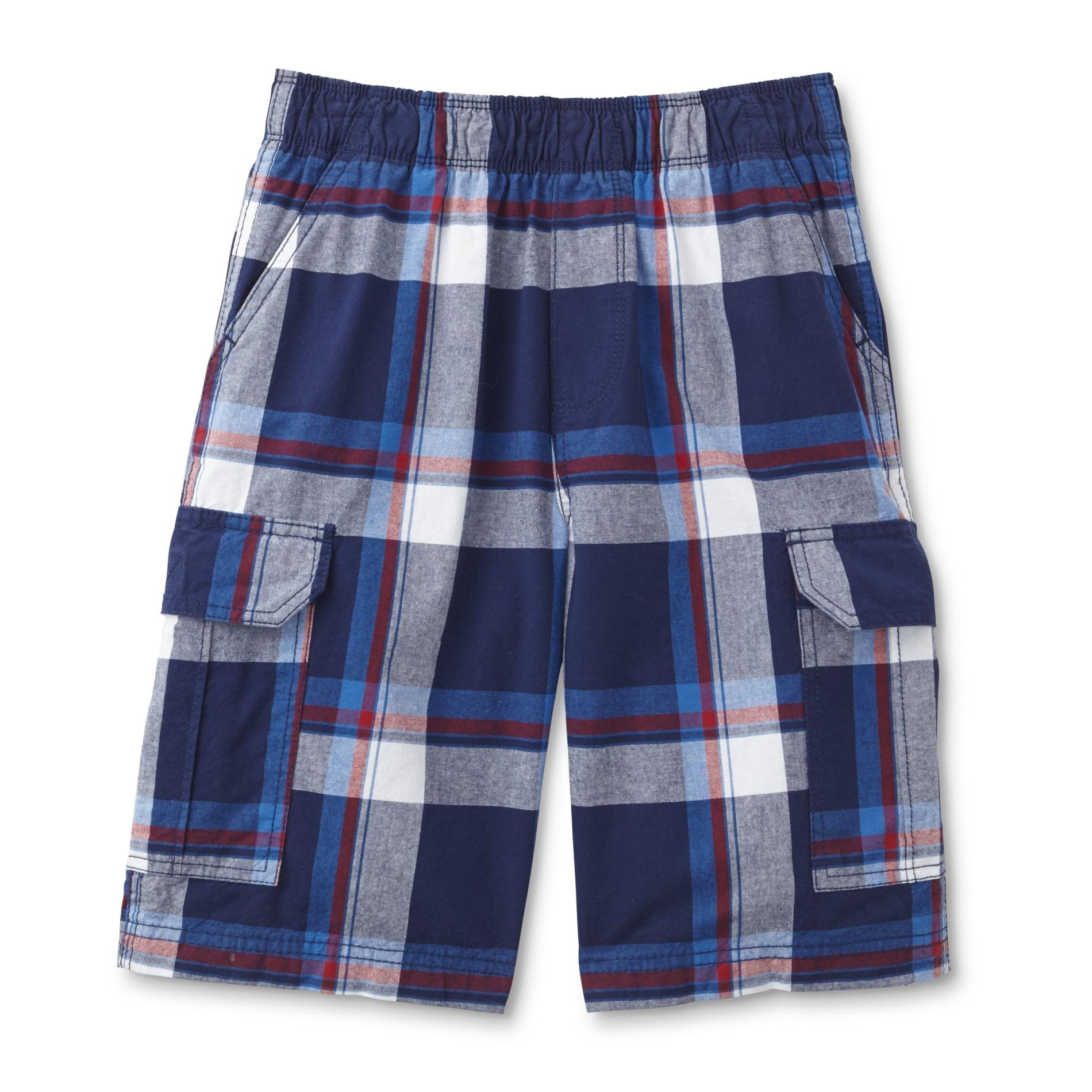 Boys Canyon River Blues Reg/ Husky Cargo Shorts (10/12yrs, Navy/Blu)