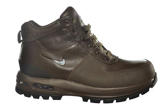 nike air max goaterra tec tuff mens boots brown\/black boots