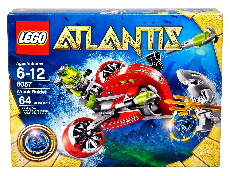 amazon com lego atlantis series set 8057 wreck raider with