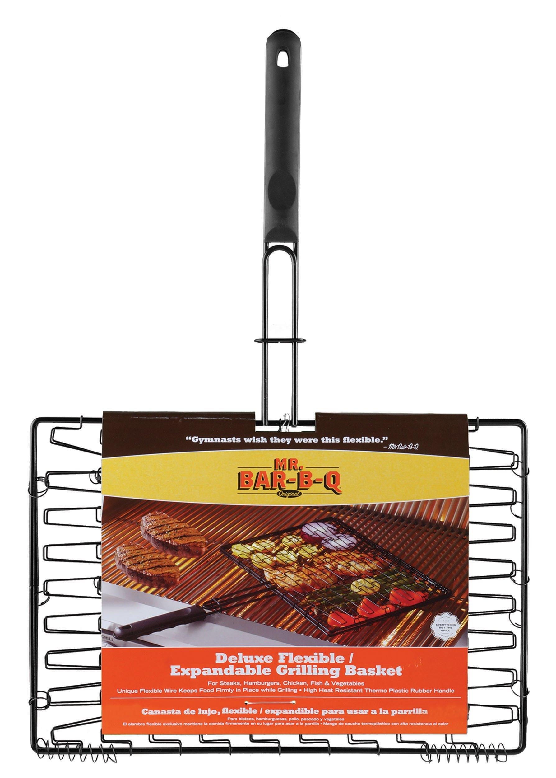 Mr. Bar-B-Q 06601Y Deluxe Non-Stick Flexible Grilling Basket