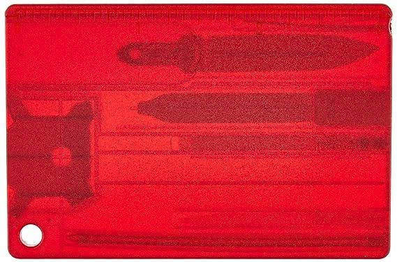 Victorinox Swiss Card Quattro Rubin Transparente, 0.7200.Tu ...
