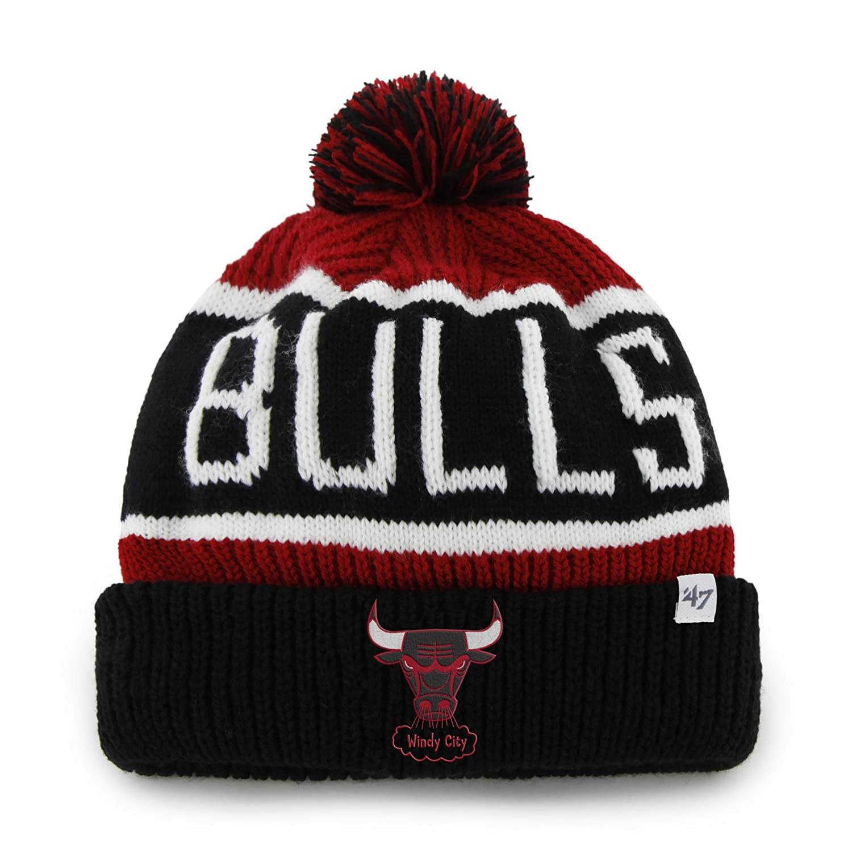 NBA 47 Brand Calgary Cuff Knit Hat with Pom