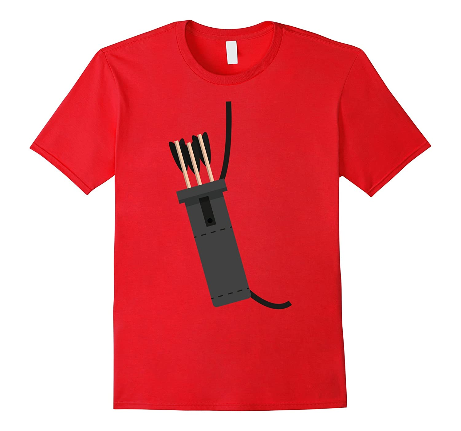 Archer Costume Halloween Tshirt - Funny Archery Arrow Gift-FL