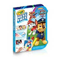 """Crayola Crayola Paw Patrol """"Mini"""" Color Wonder On-The Go Colouring Pad & Markers, Mess Free, Ages 3, 4, 5, for Girls and Boys, Gift for Boys and Girls, Kids, Ages 3+, Summer Travel, Out of School Cottage Activties"""