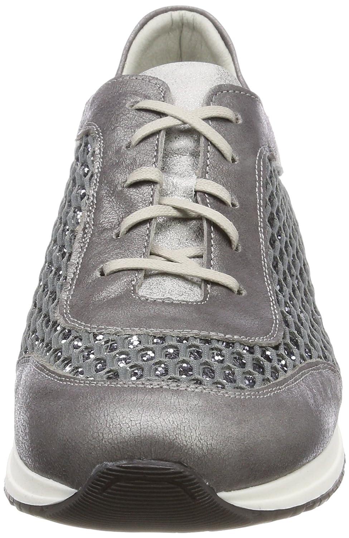 Dorking Viola, Zapatos de Cordones Oxford para Mujer, Gris (Gray), 41 EU