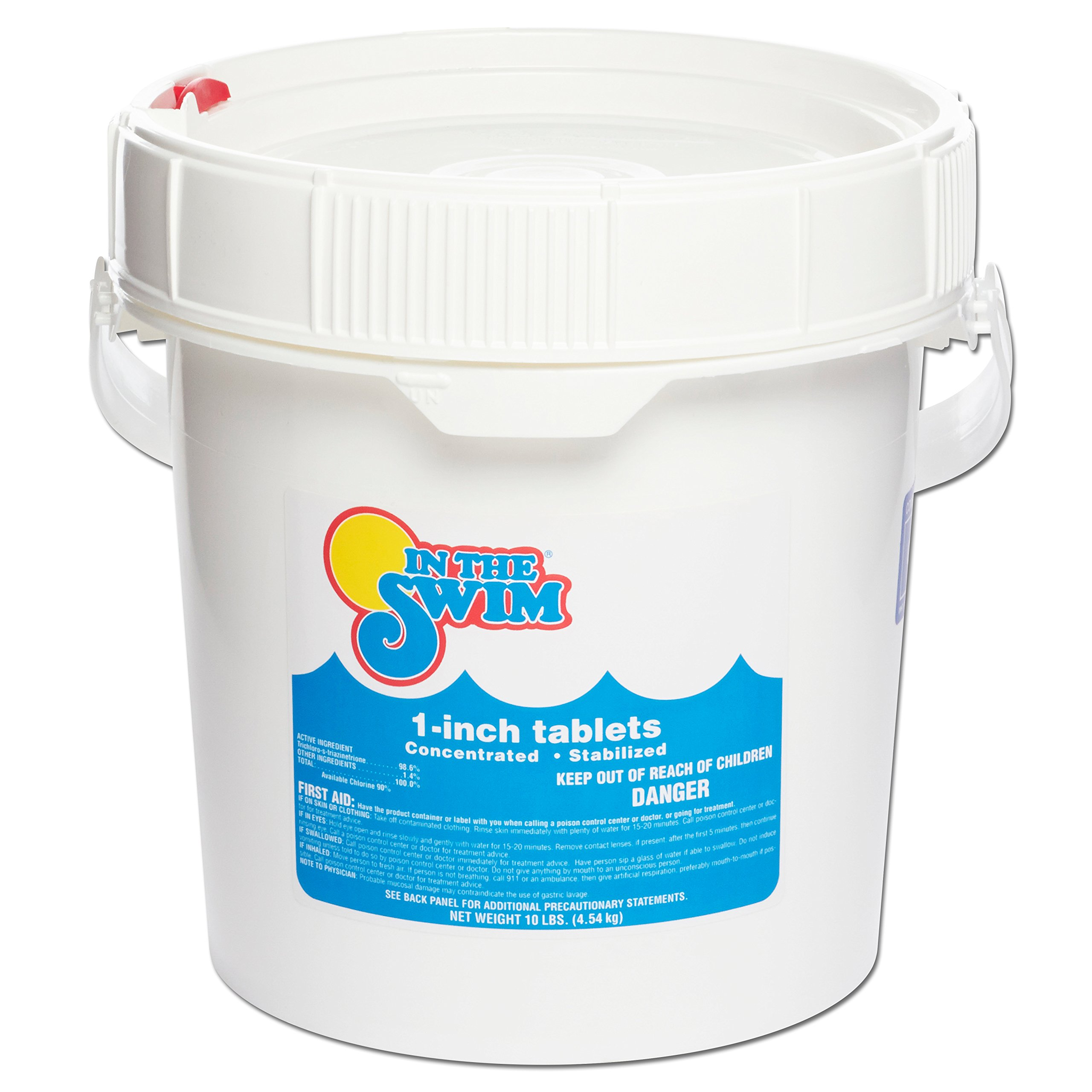 In The Swim 1'' Inch Pool Chlorine Tablets - 10 Pounds by In The Swim