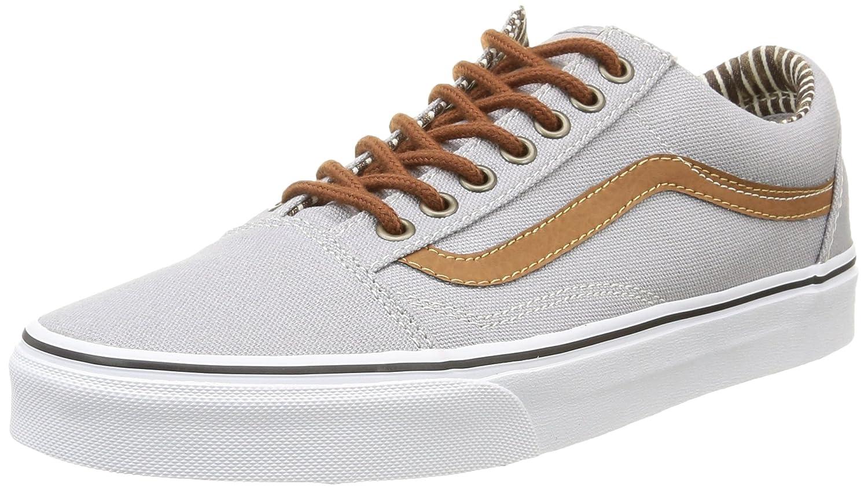 Vans Unisex Old Skool Classic Skate Shoes B001AQMT2K 10.5 M US Women / 9 M US Men Silver Sconce Denim