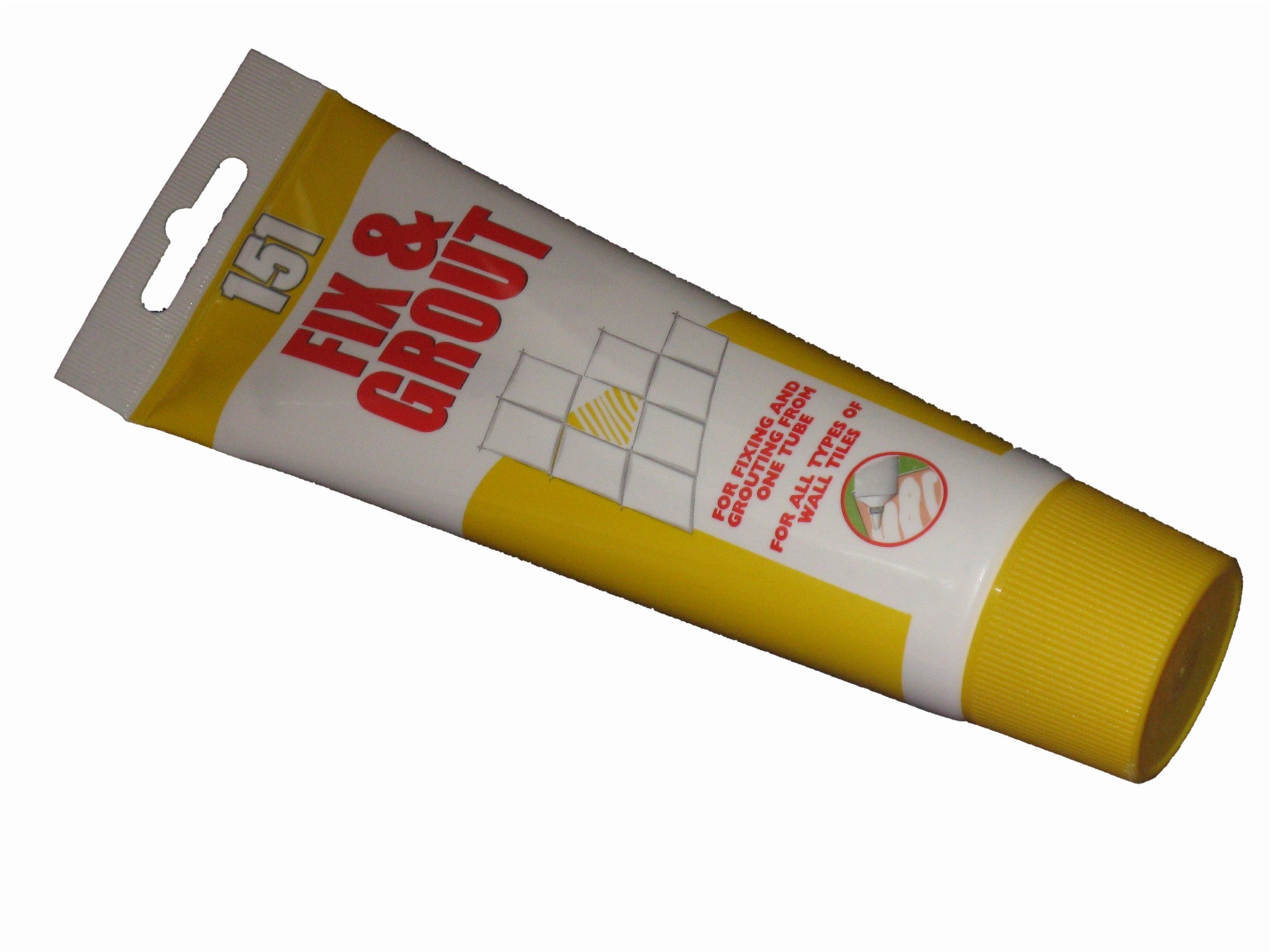 151 Products Fix And Grout For Wall Tiles 180Ml Flexi Tube Fix & Grout