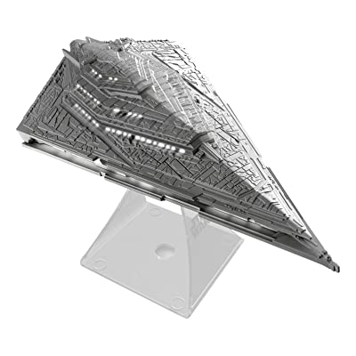 Star Wars Li-B33.FMv7 Bluetooth Speaker - The Force Awakens First Order Star Destroyer Villain Flagship Lights Up When in Use: Toys & Games