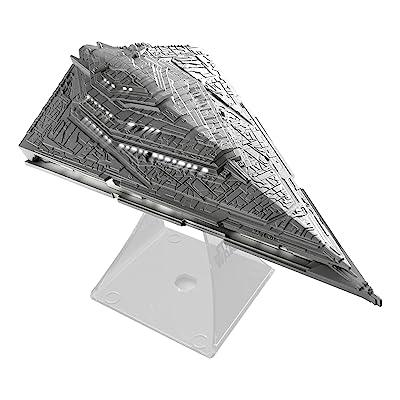 Star Wars Li-B33.FMv7 Bluetooth Speaker - The Force Awakens First Order Star Destroyer Villain Flagship Lights Up When in Use: Toys & Games