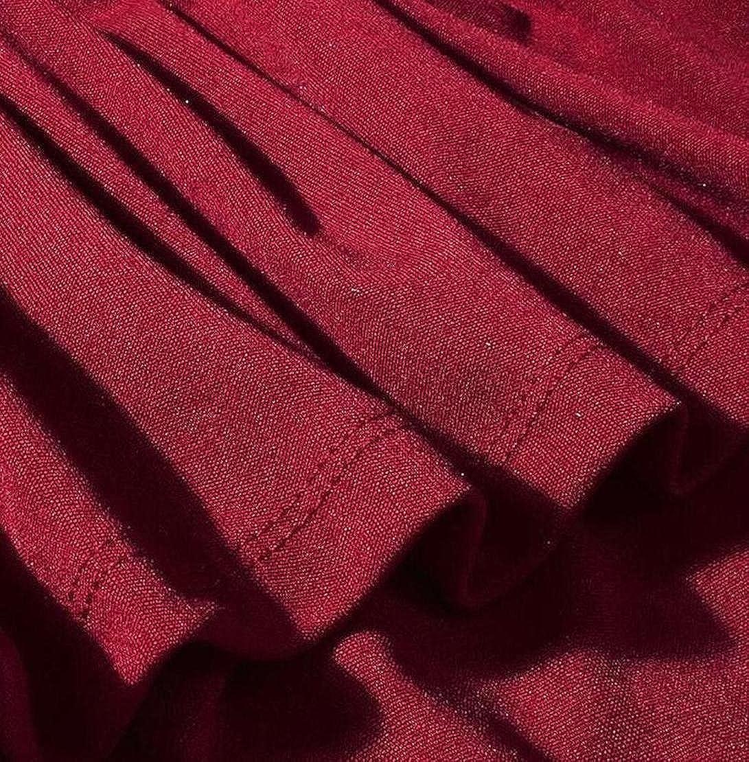 S-Fly Womens Off Shoulder Ruffles Split Bodycon Club Party Midi Dress