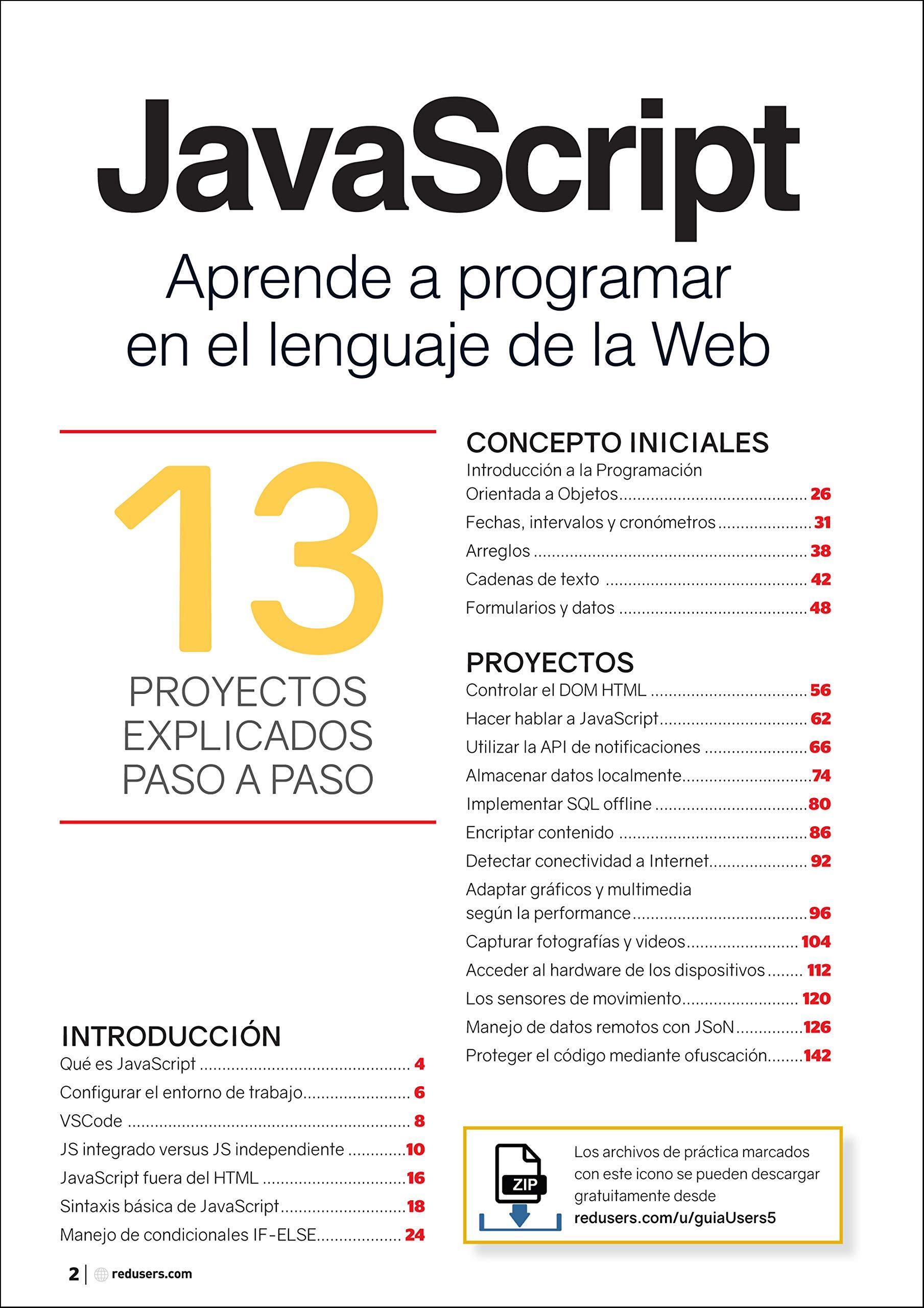JavaScript - Aprende a programar en el lenguaje de la Web (Spanish Edition): Staff Users, Users, Español;Espaniol;Espanol: 9789874958082: Amazon.com: Books