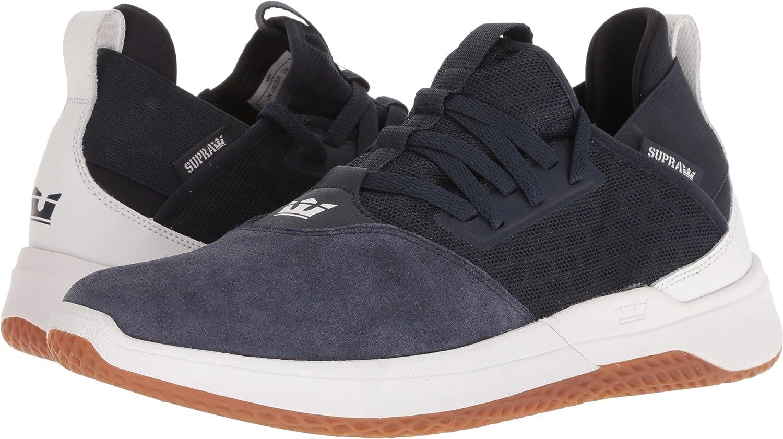 Supra Titanium Skate Shoe 9 M US|Navy-white/Gum