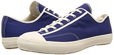 MoonStar Fine Vulcanized Gym Classic: Navy / White