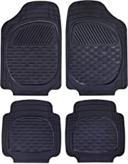 Carfit 4562051 Guardian Rubber Car Floor Mat 4 Piece Set, Black, Set of 2