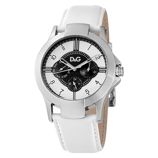 Dolce & Gabbana - Reloj de unisex, correa de piel - color blanco