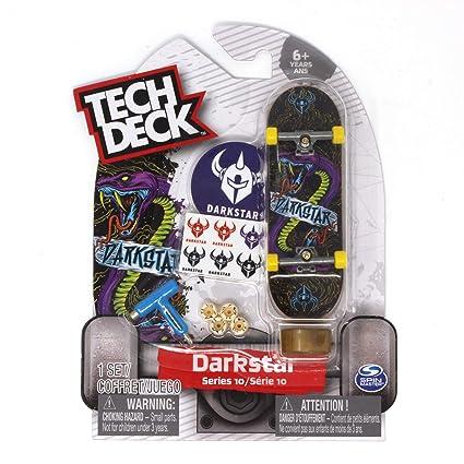 Amazon.com: Tech Deck Darkstar - Pizarra de skate (serie 10 ...