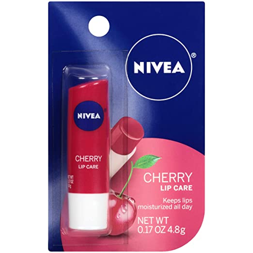 cc469dff1a7 Amazon.com   NIVEA Cherry Lip Care 0.17 Ounce Carded Pack (Pack of 6)    Beauty