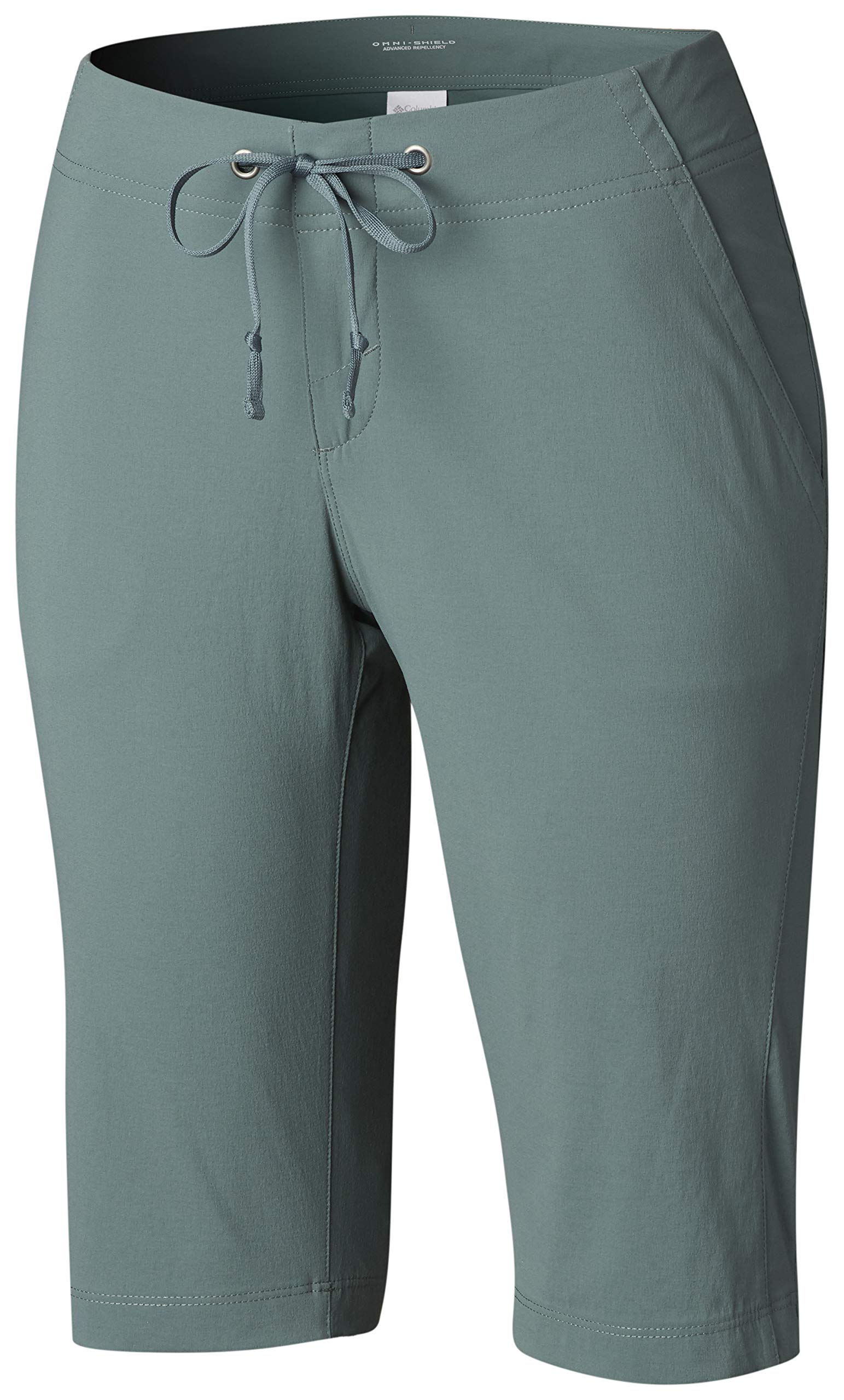 Columbia Women's Anytime Outdoor Long Short, Pond, 10 by Columbia