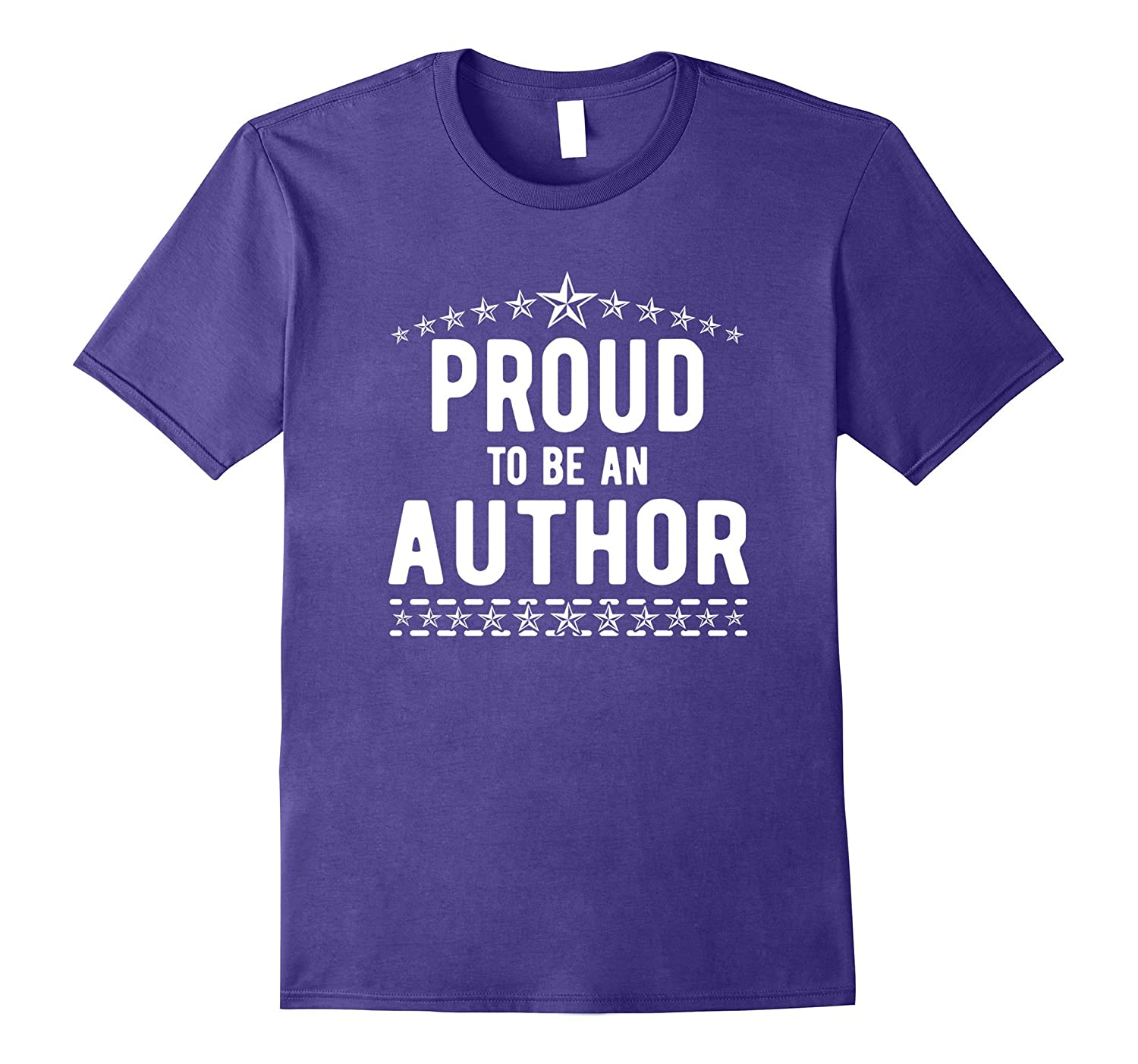 The Official Proud to Be An Author T-Shirt-TJ