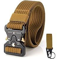 S.Lux Hombres Cinturón de Lona, YKK Hebilla de Plástico Cinturón de Secado Rápido Transpirable Hipoalergénico Cinturón…