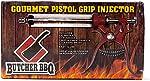 Butcher BBQ Pistol Grip Gourmet Meat Injector Metal Handle 50cc Pistol