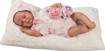 Berbesa- Baby Reborn, muñeca con Pelele (5301)
